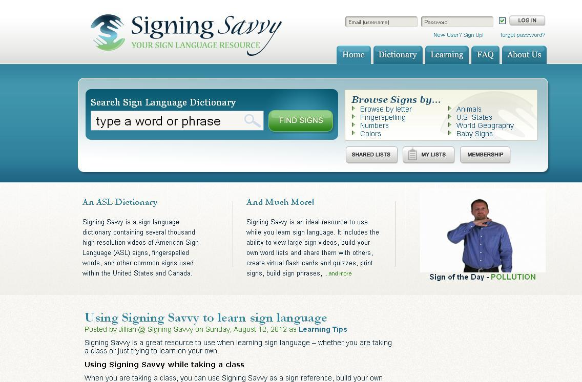 signing savvy screenshot